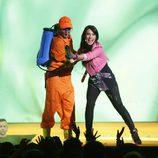 Pilar Rubio presentando el Slime Fest 2015