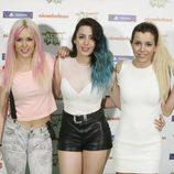 El grupo 'Sweet California' en la gala Nickelodeon Slime Fest 2015