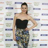 la cantante Roko en la gala Nickelodeon Slime Fest 2015