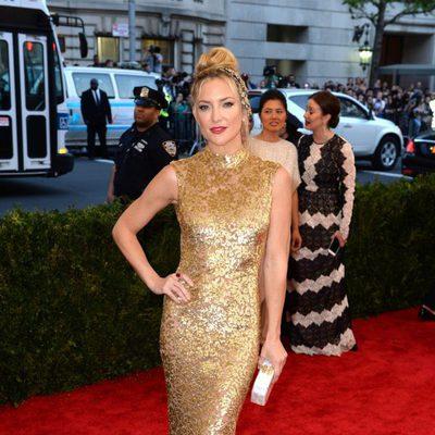 Kate Hudson en la alfombra roja de la Gala del Met 2015