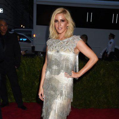 Ellie Goulding en la alfombra roja de la Gala del Met 2015
