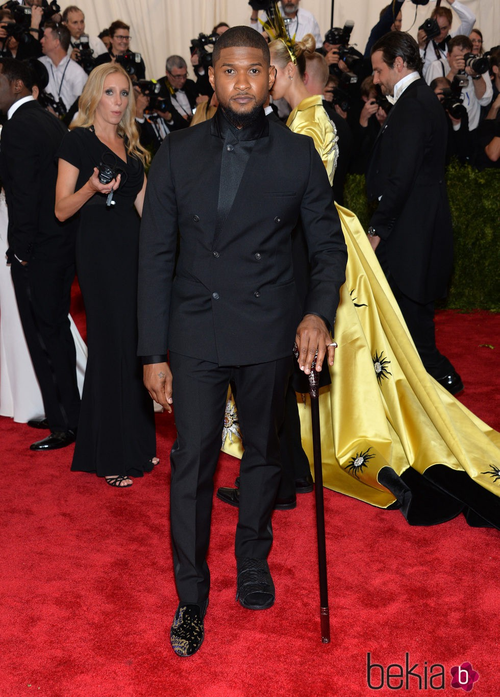 Usher en la gala MET 2015