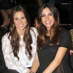 Lucía Villalón y Melissa Jiménez en el desfile de Rosa Clara en la Barcelona Bridal Week 2015