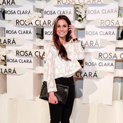Lucía Villalón en el desfile de Rosa Clara en la Barcelona Bridal Week 2015