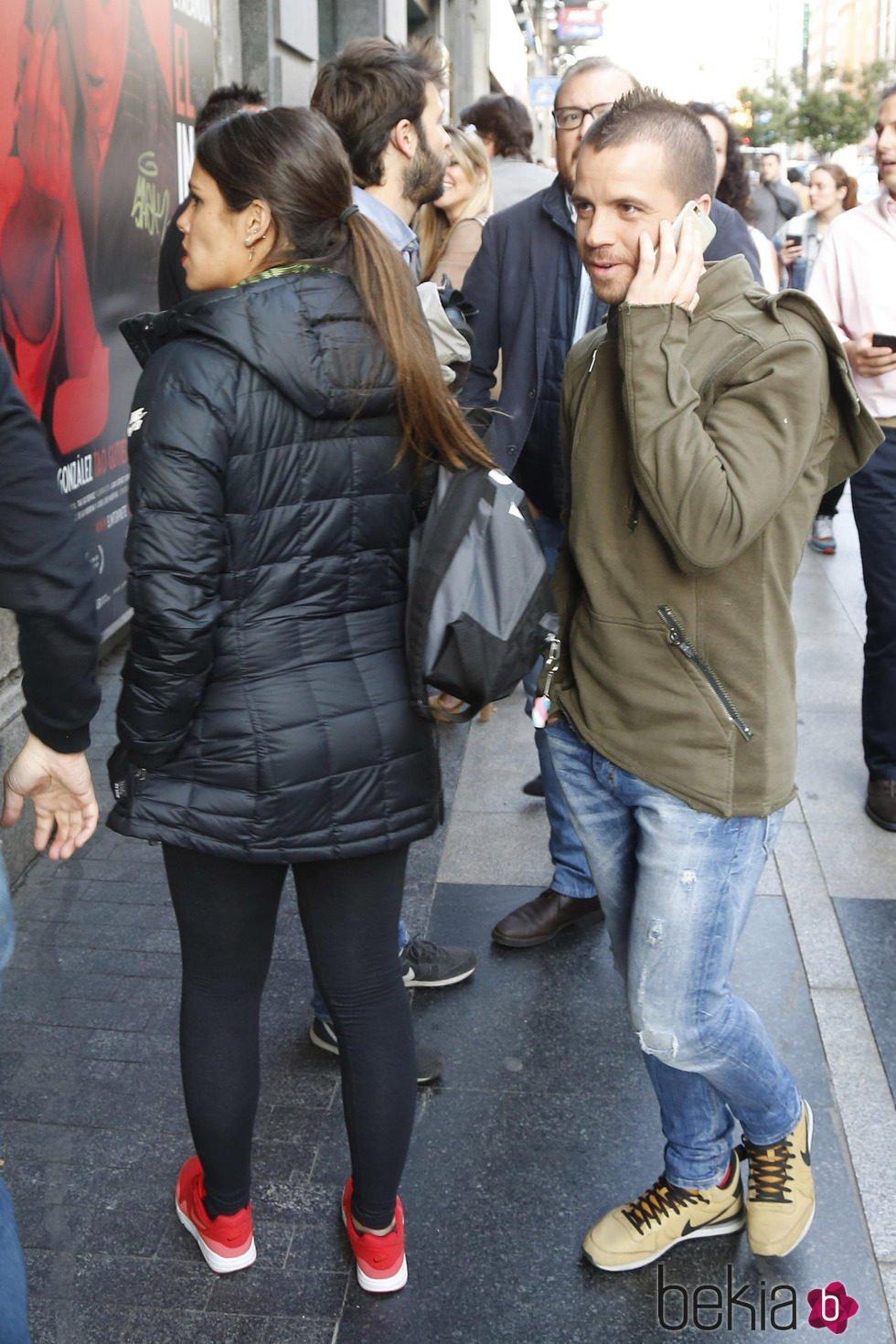 Cristina Pedroche y David Muñoz en el espectáculo de Carlos Latre '15 años no es nada'