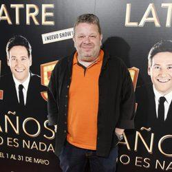 Alberto Chicote en la presentación de '15 años no es nada'
