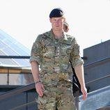 El Príncipe Harry vestido de militar en Sydney