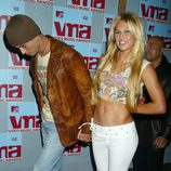 Enrique Iglesias y Anna Kournikova en los MTV Video Music Awards 2002