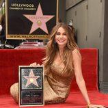Sofia Vergara estrena su estrella en el Paseo de la Fama