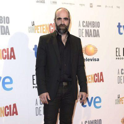 Luis Tosar en el estreno de 'A cambio de nada'