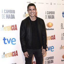 Álex González en el estreno de 'A cambio de nada'