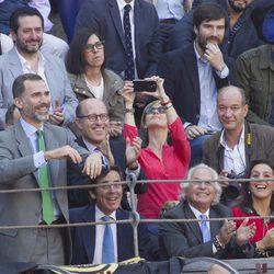 Felipe VI en su primera corrida de toros como Rey de España
