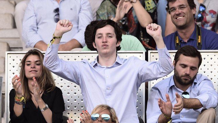El Pequeño Nicolás en la final del Madrid Open 2015