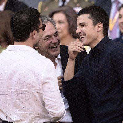 José Coronado, Álex González y Miguel Ángel Silvestre en la final de Madrid Open 2015