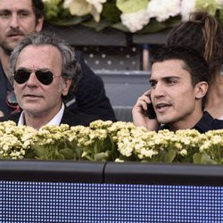 José Coronado y Álex González en la final de Madrid Open 2015