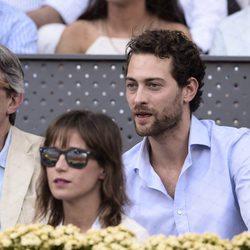 Peter Vives y Marta Etura en la final de Madrid Open 2015