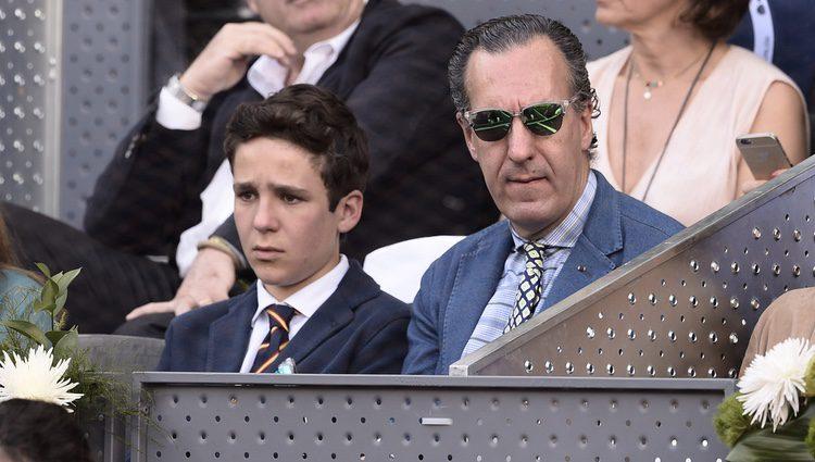 Jaime de Marichalar y Froilán en la final de Madrid Open 2015