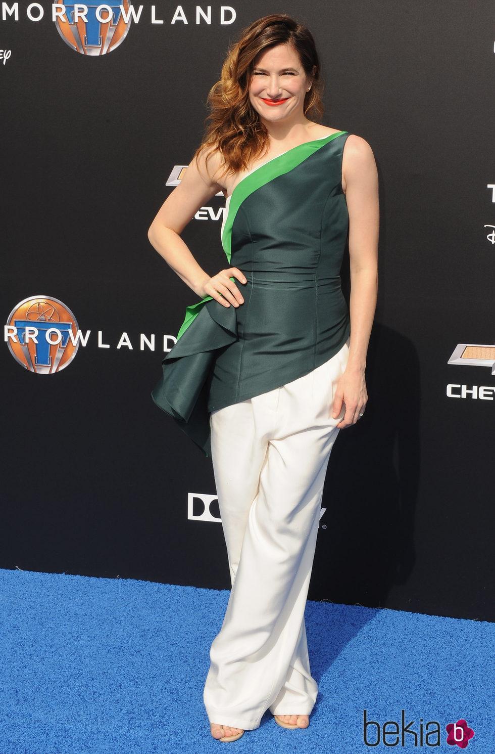 Kathryn Hahn en el estreno de Tomorrowland' en Anaheim