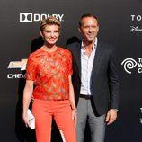 Faith Hill y Tim McGraw en el estreno de Tomorrowland' en Anaheim