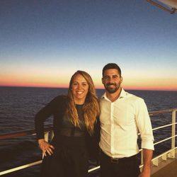 Yolanda y Jonathan disfrutan de su inolvidable crucero por las Islas Griegas