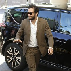 Jake Gyllenhaal a su llegada al Festival de Cannes 2015