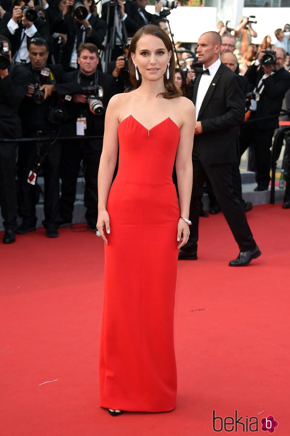 Natalie Portman en la ceremonia de inauguración del Festival de Cannes 2015
