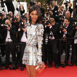 Liya Kebede en la ceremonia de inauguración del Festival de Cannes 2015