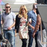 Heidi Klum durante las grabaciones de 'Germany's next top model' en Los Angeles