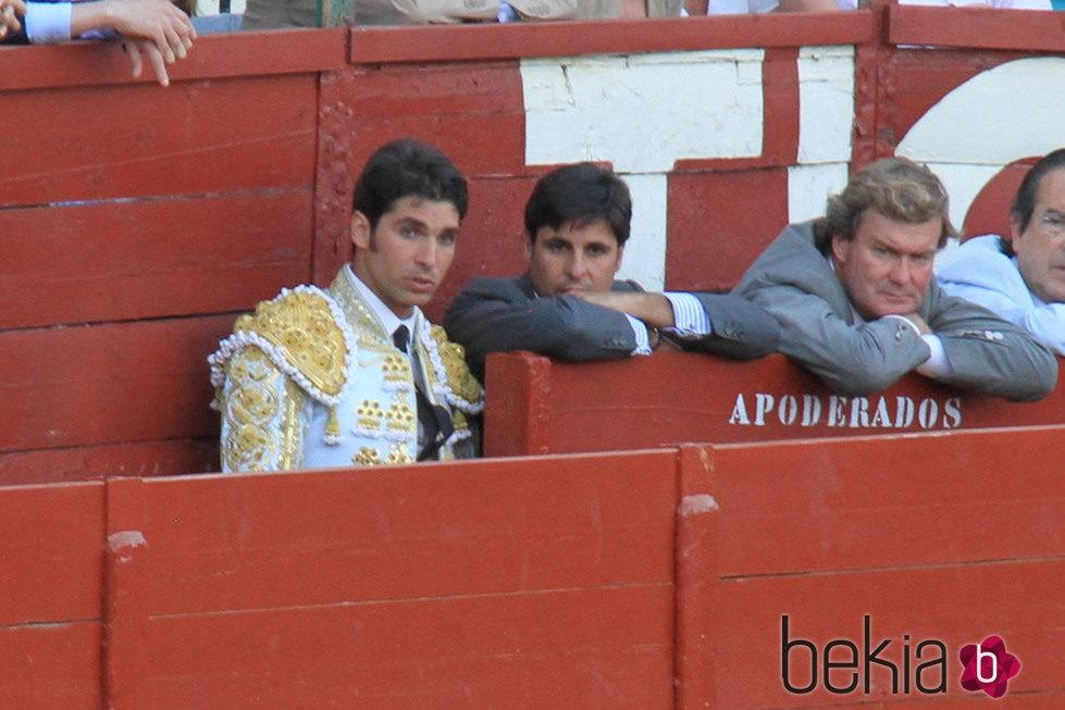 Cayetano y Francisco Rivera en una corrida de toros en Jerez de la Frontera