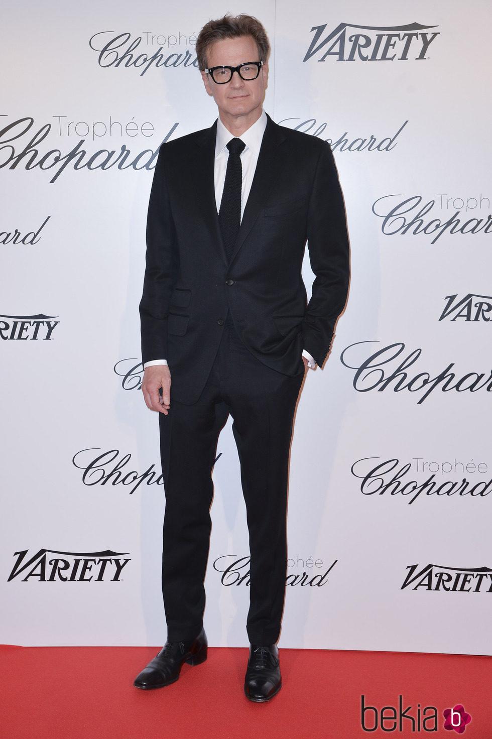 Colin Firth en la gala Trofeo Chopard del Festival de Cannes 2015