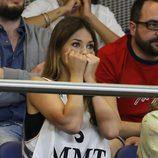 Helen Lindes en tensión durante la final de la Euroliga 2015