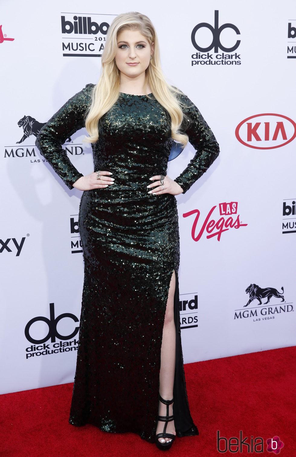 Meghan Trainor en los Billboard Music Awards 2015