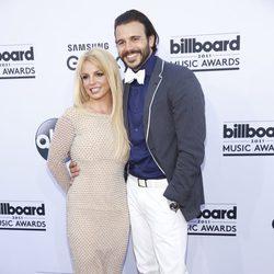Britney Spears y Charlie Ebersol en los Billboard Music Awards 2015