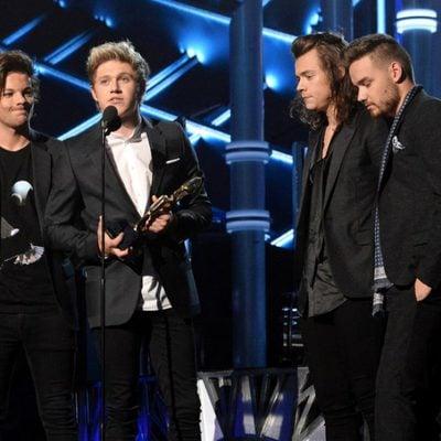Louis Tomlinson, Niall Horan, Harry Styles y Liam Payne en los Billboard Music Awards 2015