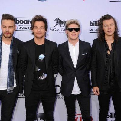Liam Payne, Louis Tomlinson, Niall Horan y Harry Styles en los Billboard Music Awards 2015