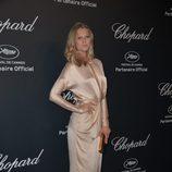 Toni Garrn en la fiesta Chopard ofrecida por el Festival de Cannes 2015