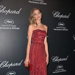 Ana Beatriz Barros en la fiesta Chopard ofrecida por el Festival de Cannes 2015