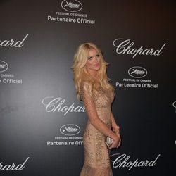 Victoria Silvstedt en la fiesta Chopard ofrecida por el Festival de Cannes 2015