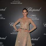 Izabel Goulart en la fiesta Chopard ofrecida por el Festival de Cannes 2015