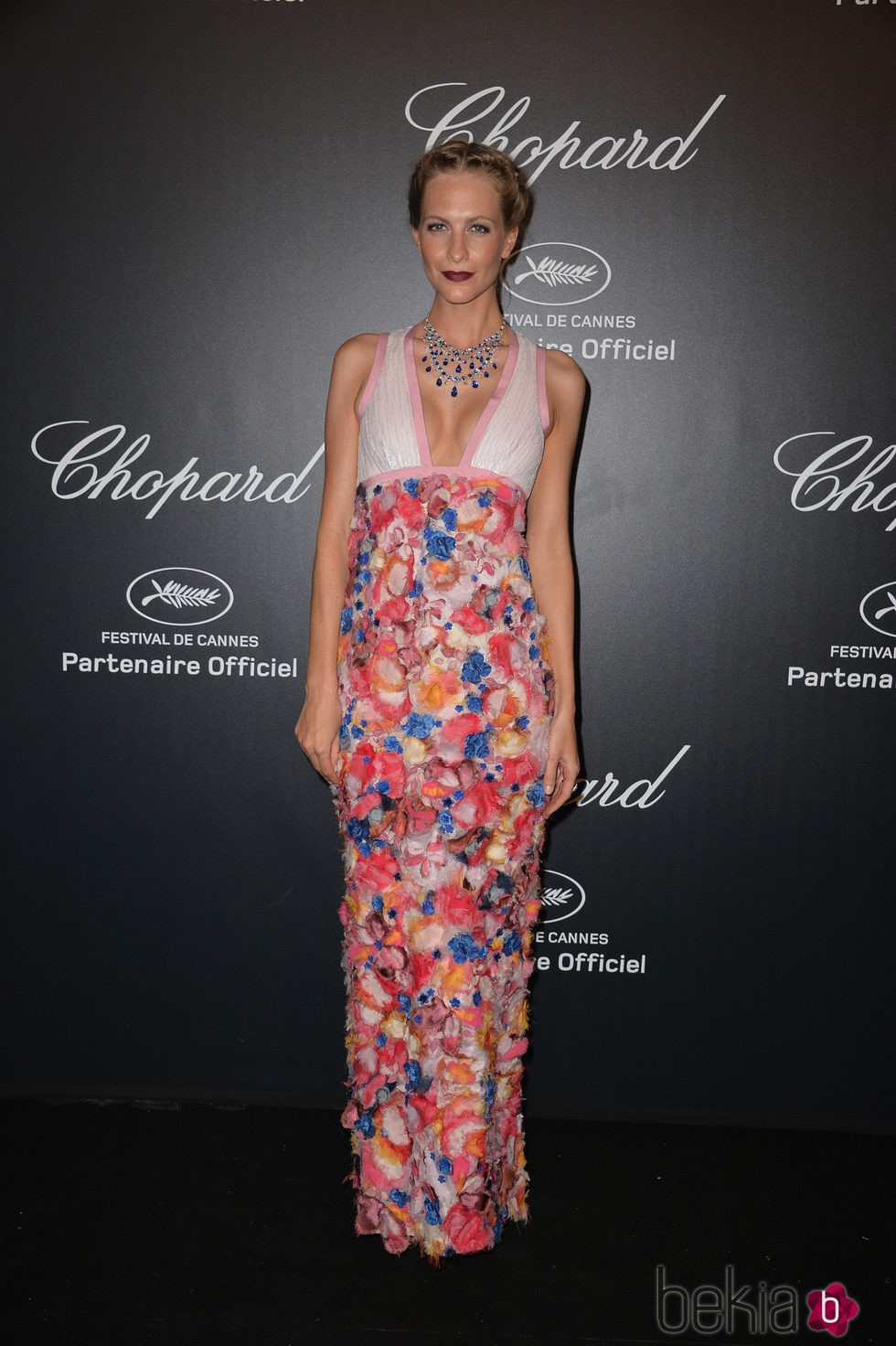 Poppy Delevingne en la fiesta Chopard ofrecida por el Festival de Cannes 2015