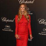 Nina Agdal en la fiesta Chopard ofrecida por el Festival de Cannes 2015