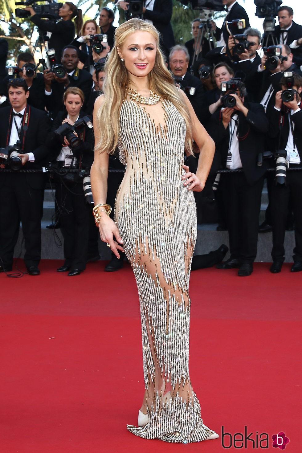 Paris Hilton en el estreno de 'Inside Out' en Cannes 2015
