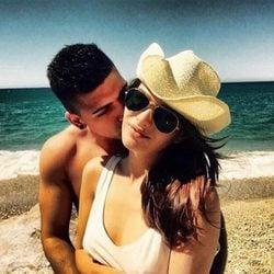 Andrea Duro, enamorada de su novio Adri