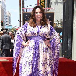 Melissa McCarthy estrena su estrella en el Paseo de la Fama de Hollywood