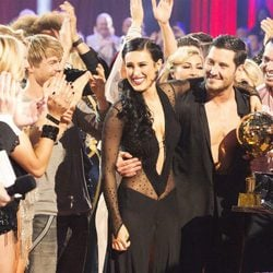 Rumer Willis y Val Chmerkovskiy ganadores de 'Dancing With The Stars'