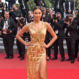 Irina Shayk en el estreno de 'Sicario' en el Festival de Cannes 2015