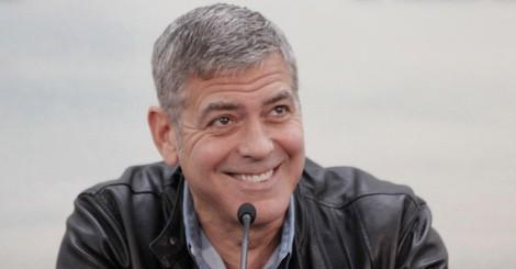 George Clooney presenta en Valencia 'Tomorrowland: El mundo del mañana'