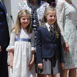 La Princesa Leonor con su hermana Sofía en su Primera Comunión