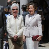 Menchu Álvarez del Valle y Paloma Rocasolano en la Primera Comunión de la Princesa Leonor