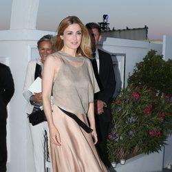 Julie Gayet en la fiesta de Vanity Fair celebrada en el Festival de Cannes 2015